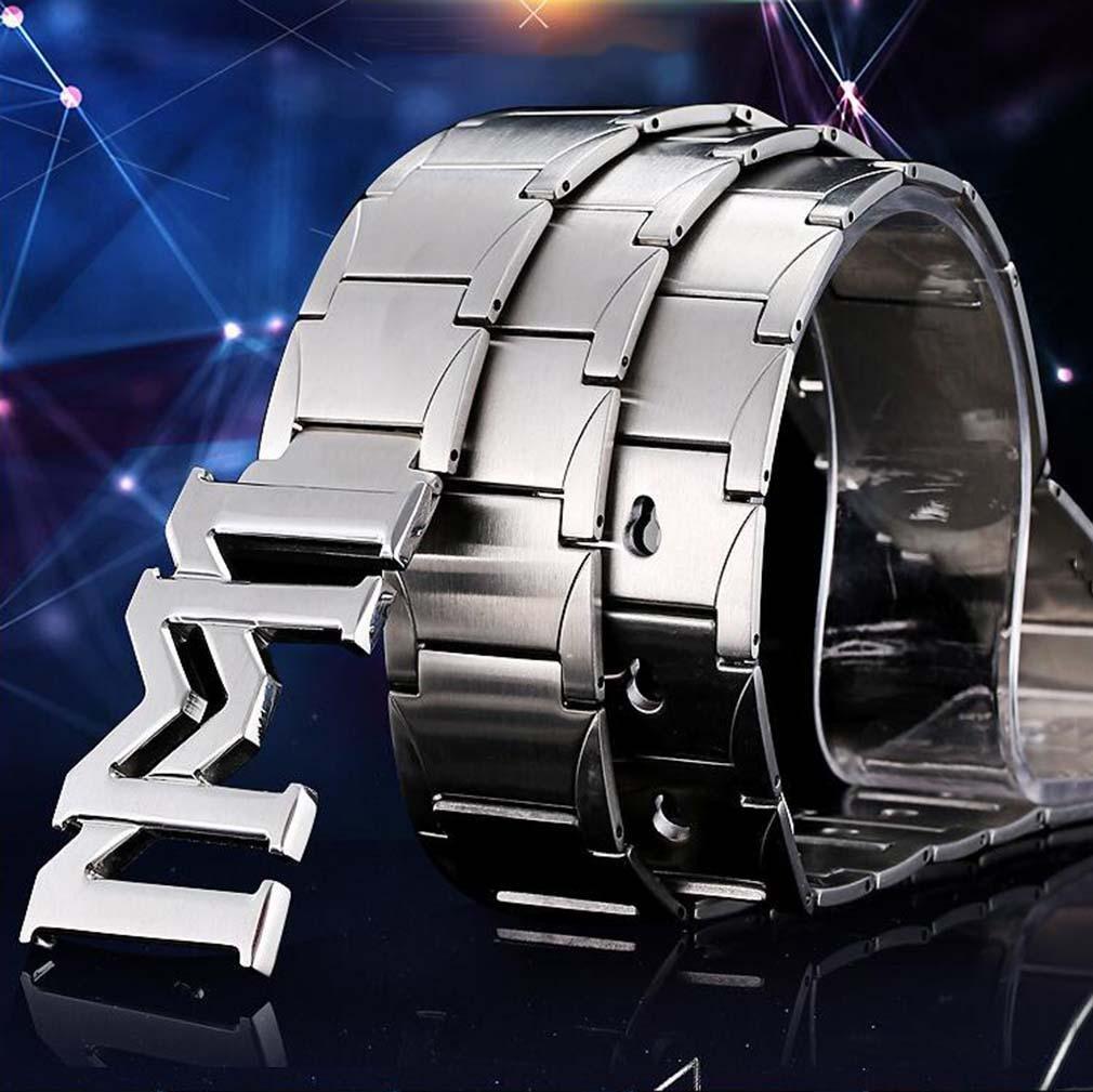 ZYT Antiallergische vollmassive Edelstahl M/änner 304 Stahl Outdoor Selbstverteidigung Nadel G/ürtelschnalle