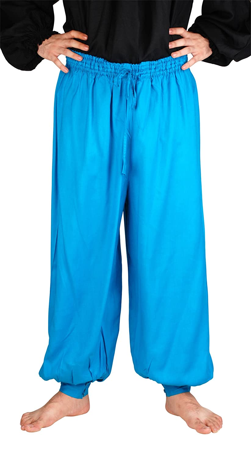 Renaissance Pirate Hawaiian Ocean Harem Pants