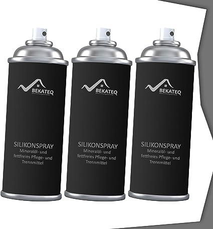 Spray lubricante de silicona Bekateq SK-150; para el cuidado de ...