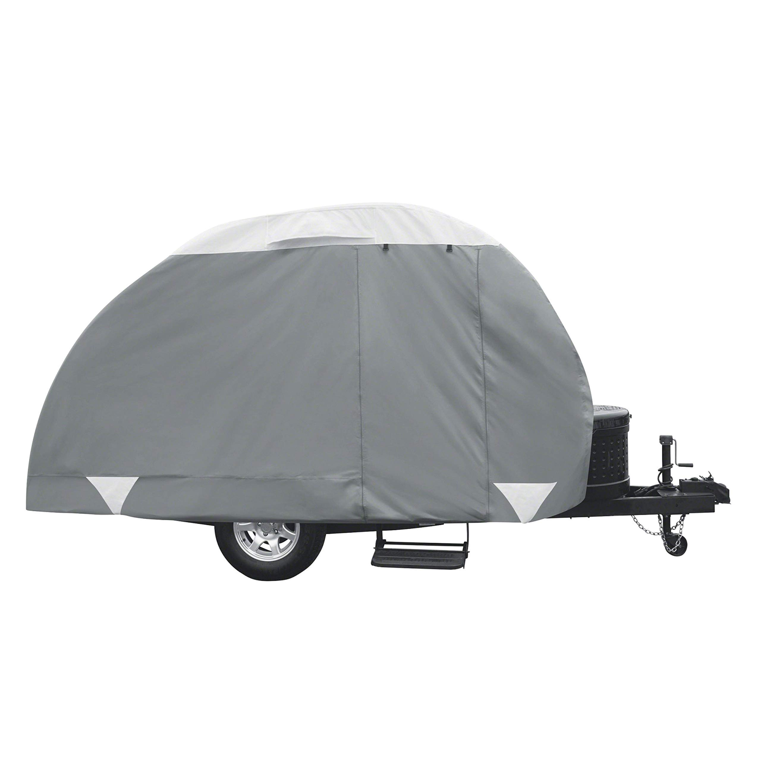 Classic Accessories PolyPro 3 Teardrop Camping Trailer Cover, Up To 132'' Long by Classic Accessories