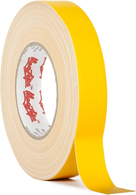 Magtape Matt 500 25mmx50m Tape gelb