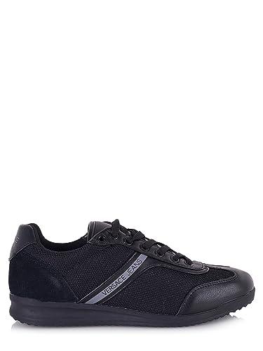 Versace Jeans Wing Cap Homme Baskets Mode Noir  Amazon.fr  Chaussures et  Sacs 52852db1723