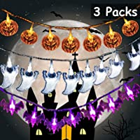 Toodour Battery Operated Halloween Decoration Lights
