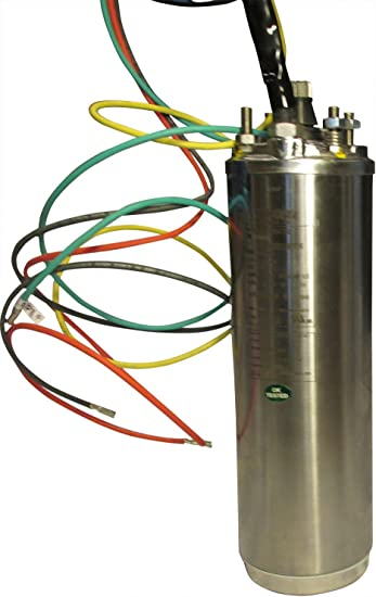 460 volt 3 phase wiring 6  submersible water well pump motor  40 hp  460 volt  3 phase  6  submersible water well pump motor