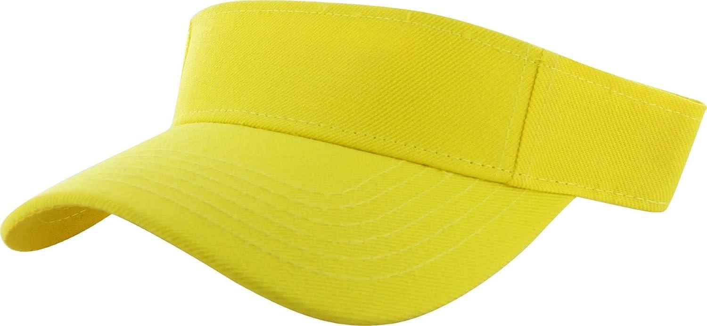 29+ Colors DealStock Plain Men Women Sport Sun Visor One Size Adjustable Cap