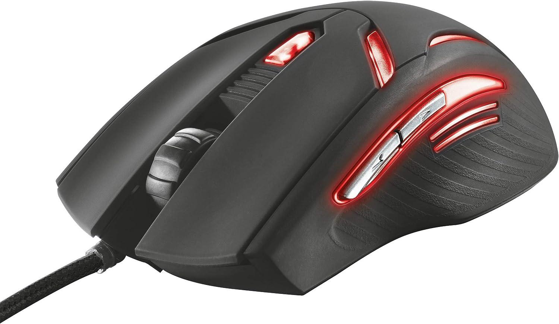 Trust GXT 152 Gaming Mouse Illuminato con 6 Tasti e 2400 DPI