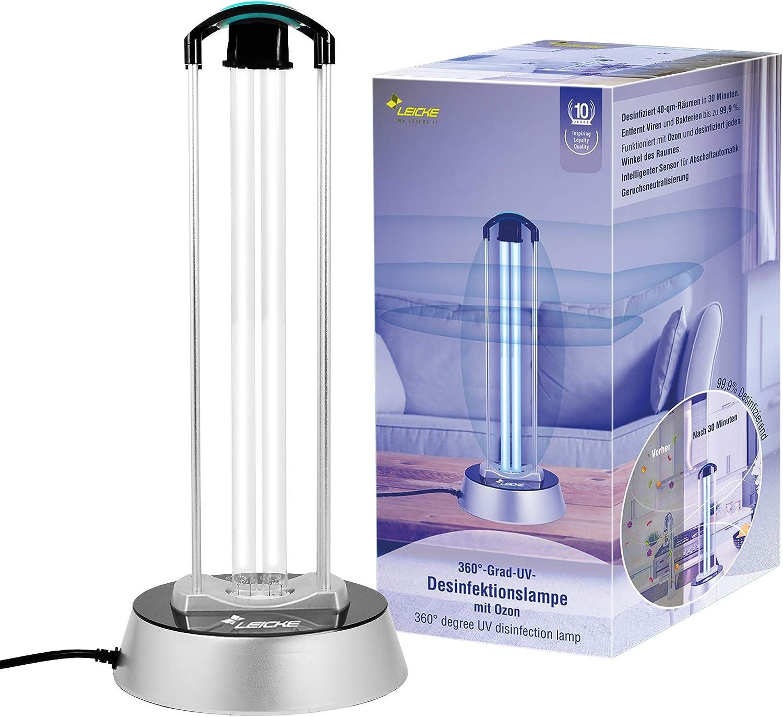 UV-Sterilisationslampe Desinfektionslampe Luftreiniger zur Sterilisationslampe UVC Antibakterielle Rate 100/% Tragbar T/ötet Bakterien Schimmel Keimviren f/ür Auto Haushalt K/ühlschrank Toilette Hausti