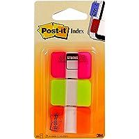 Post-it 686-PGO Index Strong (3 x 22 Haftstreifen, 25,4 x 38 mm) pink/grün/orange