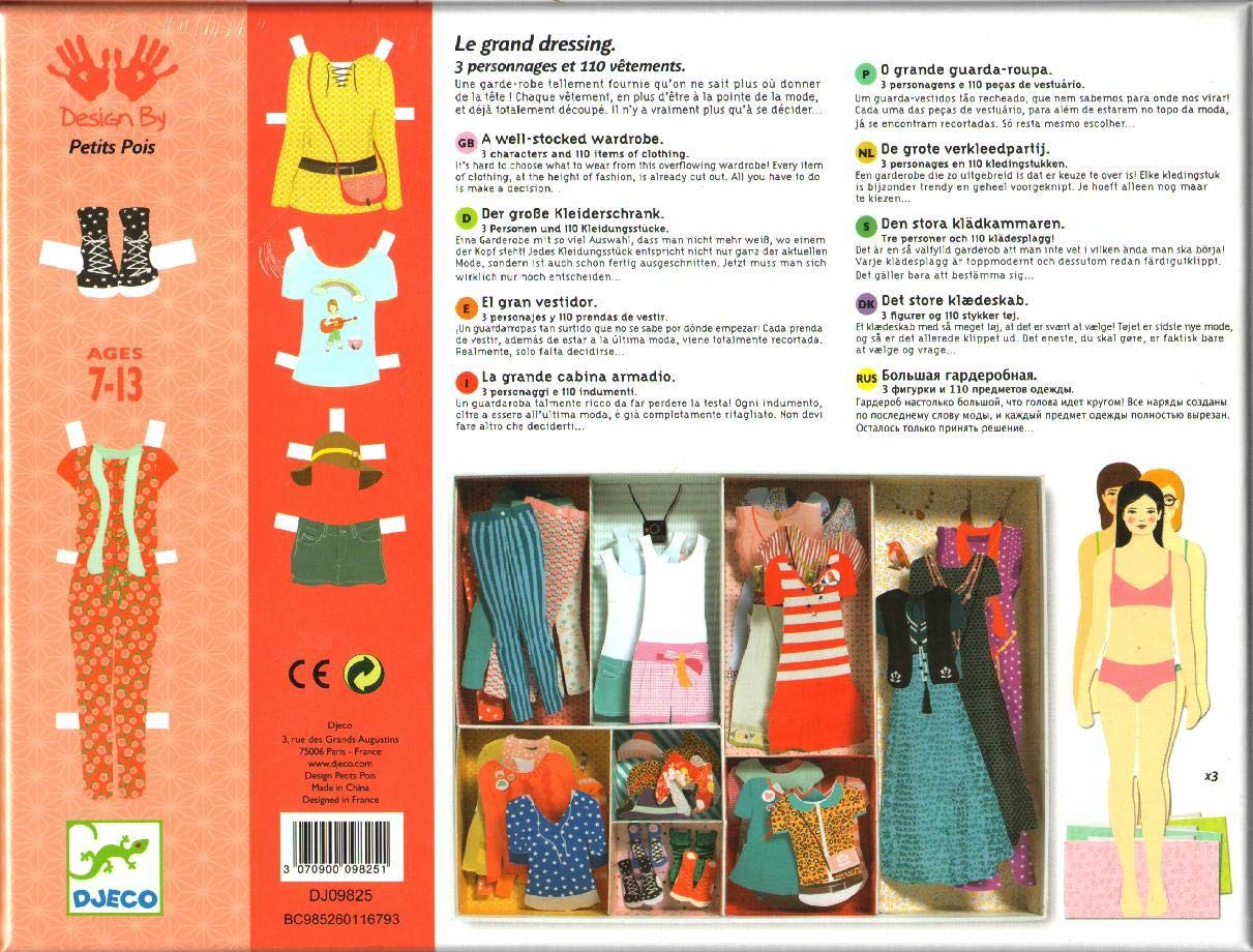Papo Ooh Fashion - One Big Dressing by Papo