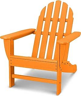 product image for POLYWOOD Classic Adirondack Adirondack Chair, Tangerine