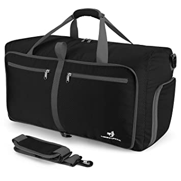4511ee1769f3 NEEKFOX Foldable Travel Duffel Bag Large Sports Duffle Gym Bag Packable  Lightweight Travel Luggage Bag for Men Women (60L)  Amazon.co.uk  Sports    Outdoors