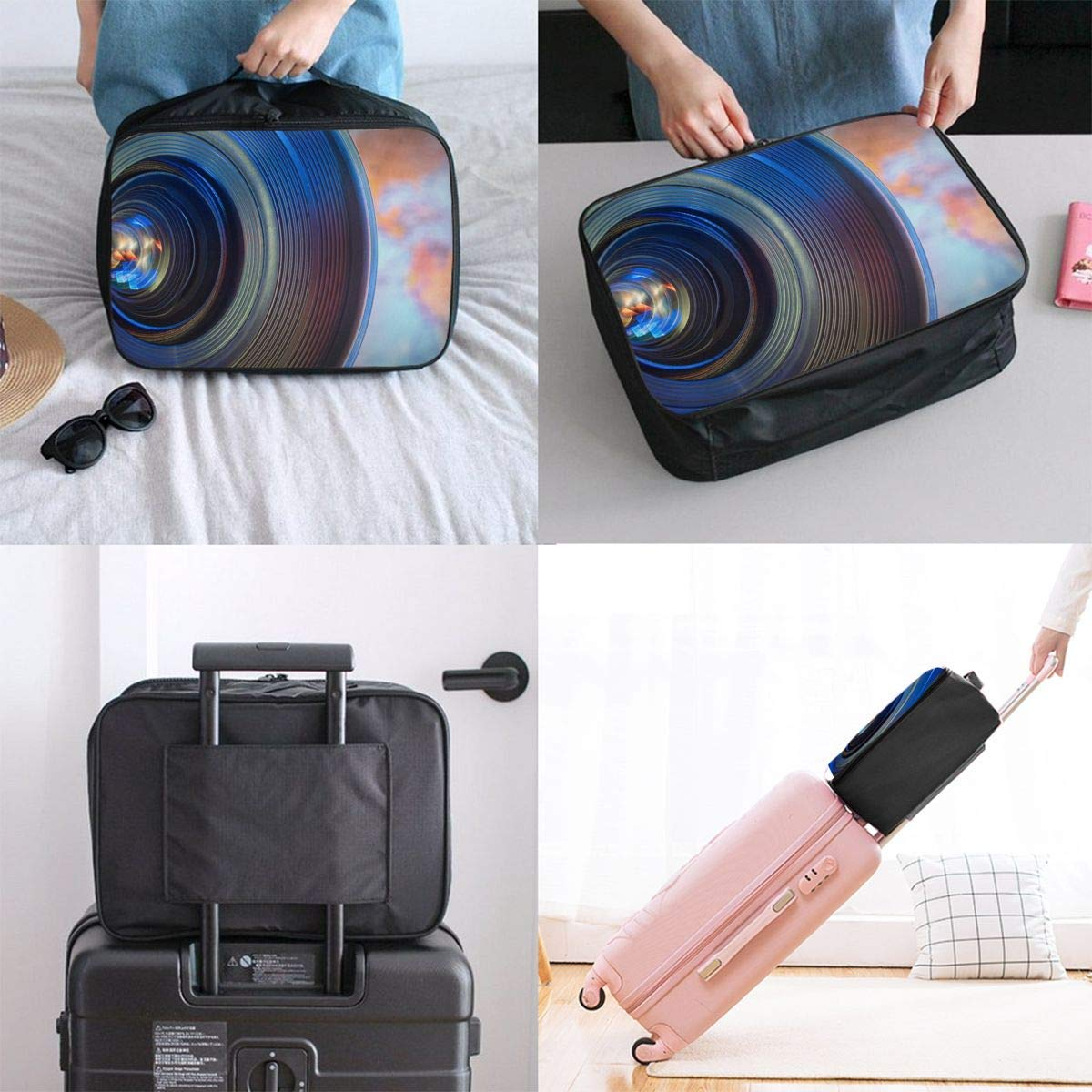 Travel Duffel Bag Backpack 2 JTRVW Luggage Bags for Travel Lightweight Large Capacity Portable Duffel Bag for Men /& Women Camera Lens