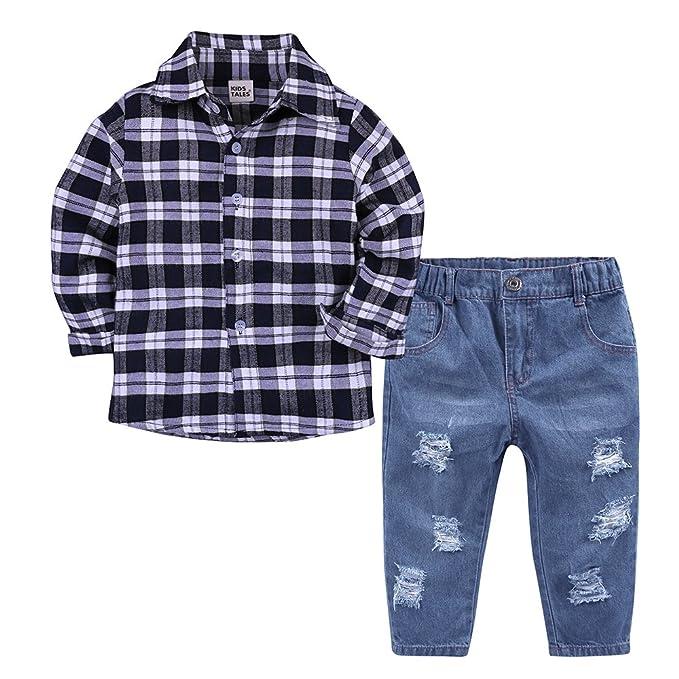 Amazon.com: Cuentos de niños boys 2 piezas suave pantalones ...