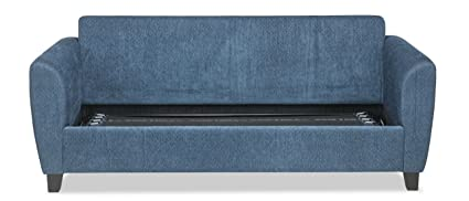 Durian Curtis Four Seater L-Shaped Sofa (Mocha Brown)