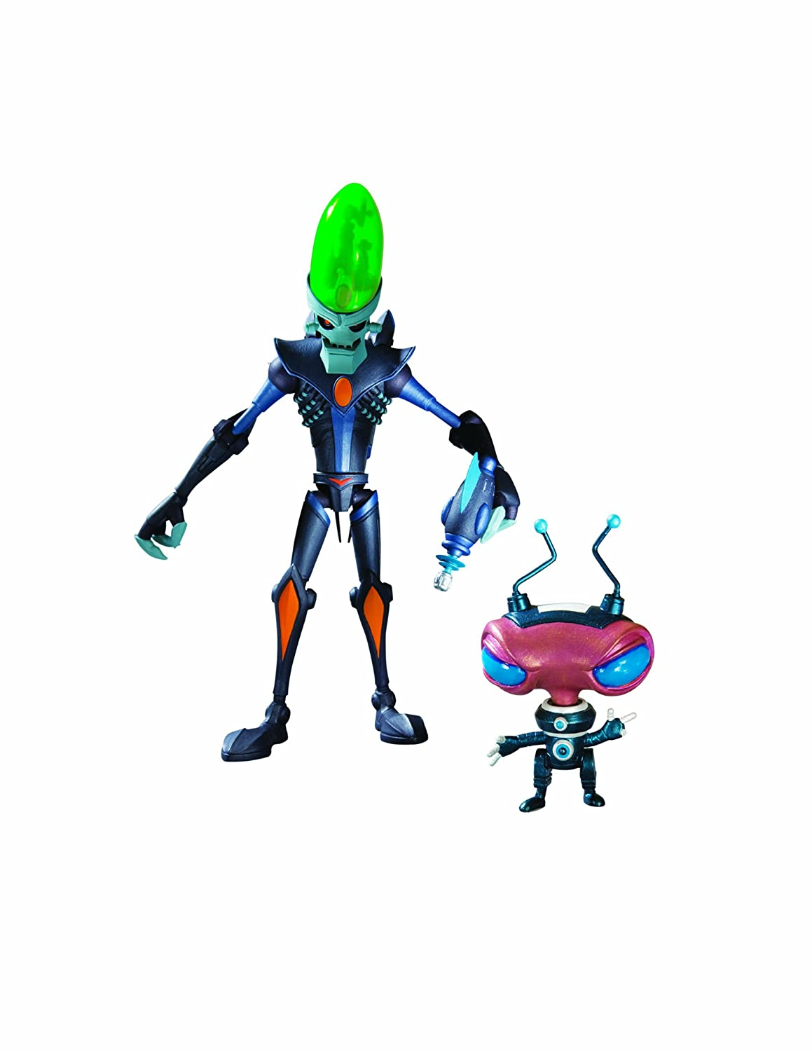ratchet u0026 clank series 1 dr nefarious with zoni action figure