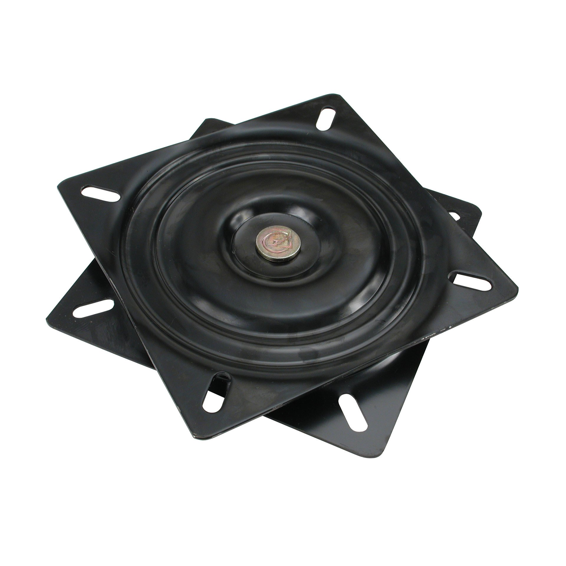 Richelieu Hardware UC11B12 Swivel Plate, 6.61 in, Black