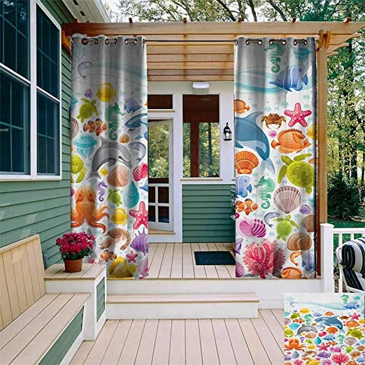 XXANS Cortina de pérgola, pétalos de Colores Vivos dispuestas en Forma de Remolino Abstracto de Vortex, eficiencia energética, oscurecimiento de Habitaciones: Amazon.es: Jardín