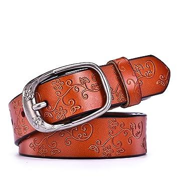 a basso prezzo 6d2f5 56123 Cinture in Vera Materiale in Pelle per Donna Materiale in ...