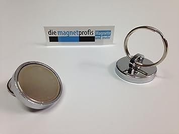 neodimio llavero con llavero magnético magnetöse con anilla ...