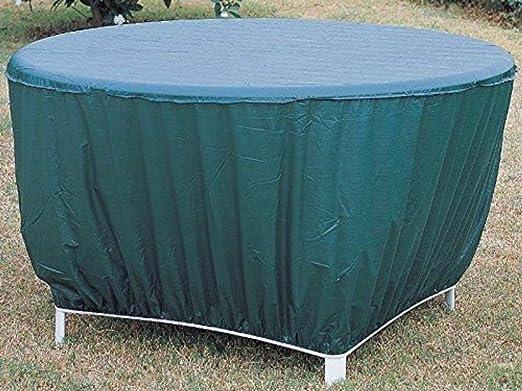 Mintcraft CVRA-RT-D Patio redondo de vinilo funda para mesa ...