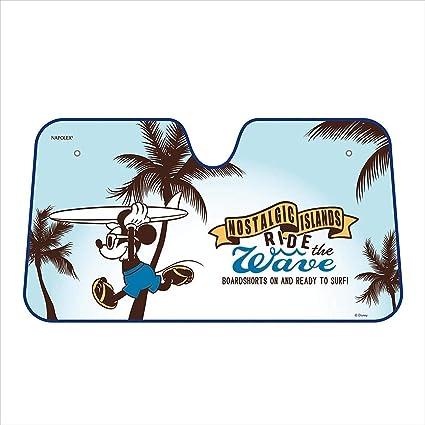 Amazon.com  Napolex Disney Mickey Mouse Car Windshield Sun Shade ... 5a88f71afca
