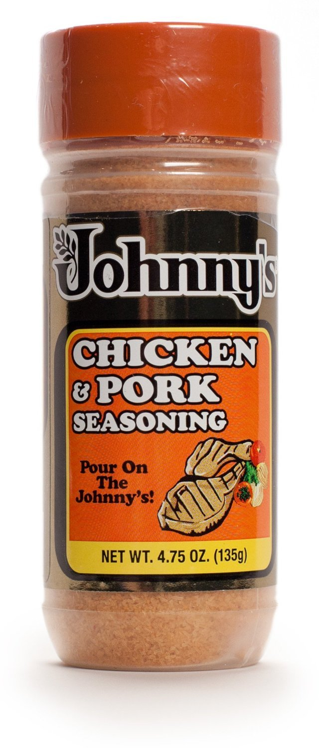 Johnny's Chicken and Pork Seasoning, 4.75 Ounce (Pack of 3)