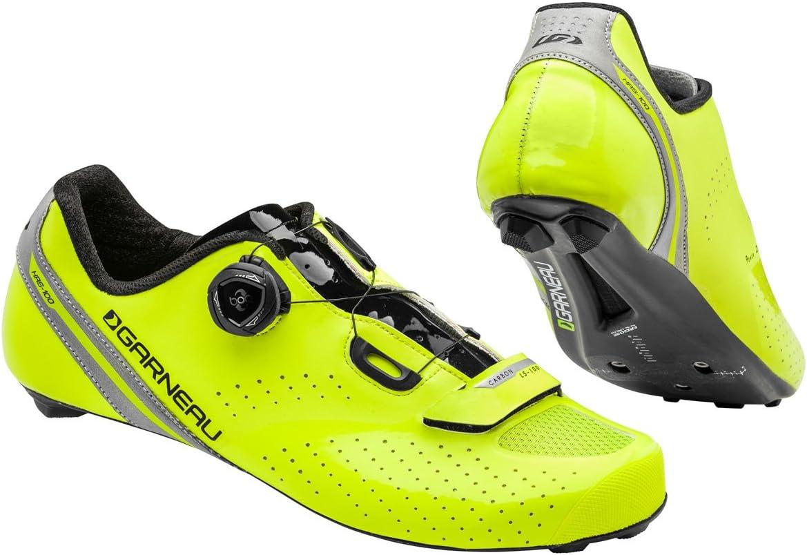 Garneau Carbon LS100 II Cycling Shoe Men's Cycling 43 EU Yellow-Black