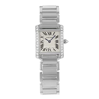 41a09bf3ae689 Image Unavailable. Image not available for. Color  Cartier Tank Francaise  ...
