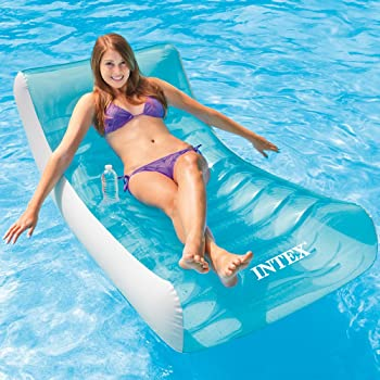 Intex Rockin' Inflatable Pool Float Lounger