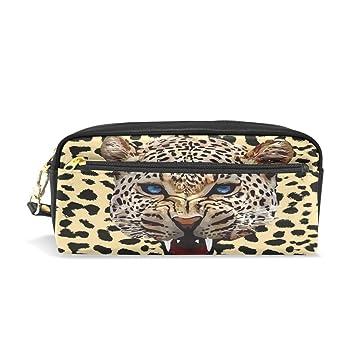 Estuche para lápices, diseño de leopardo con estampado de ...