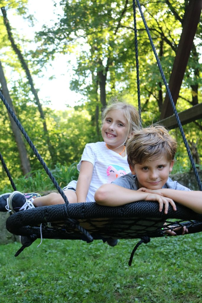 Outdoor Swing N' Spin-