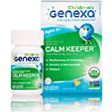 Genexa Calm Keeper for Children – 60 Tablets | Certified Organic & Non-GMO, Physician Formulated, Homeopathic | Calming…