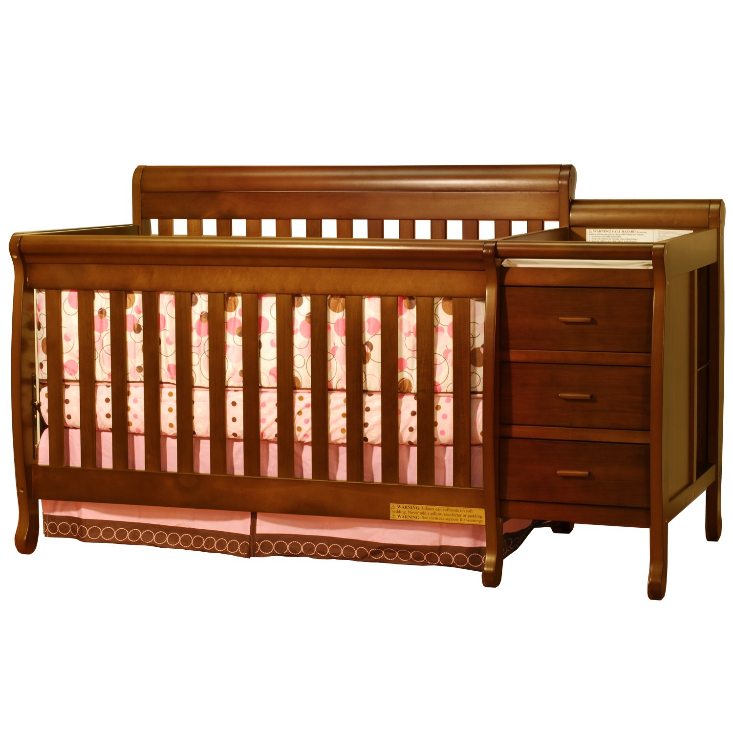free serta convertible lifestyle overstock in modern crib mid garden century home cribs shipping today grey product