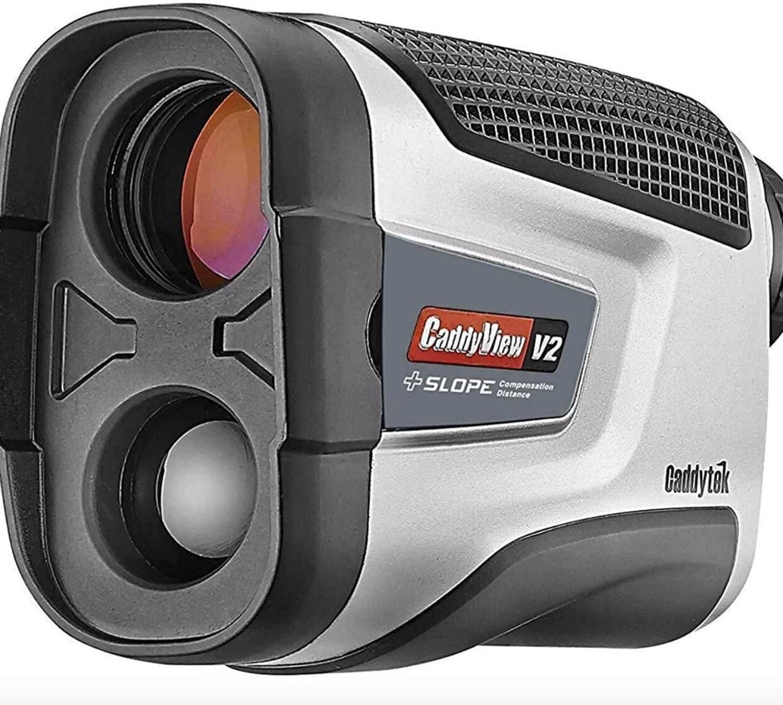 CaddyTek Golf Laser Rangefinder with Pin Seeking