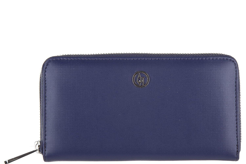 Armani Jeans monedero cartera bifold de mujer nuevo blu: Amazon.es: Zapatos y complementos