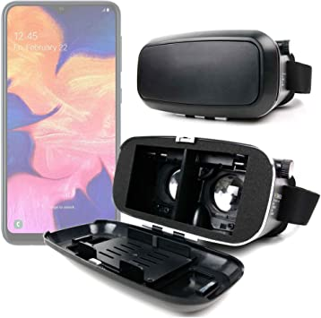DURAGADGET Gafas de Realidad Virtual VR Ajustables en Color Negro ...