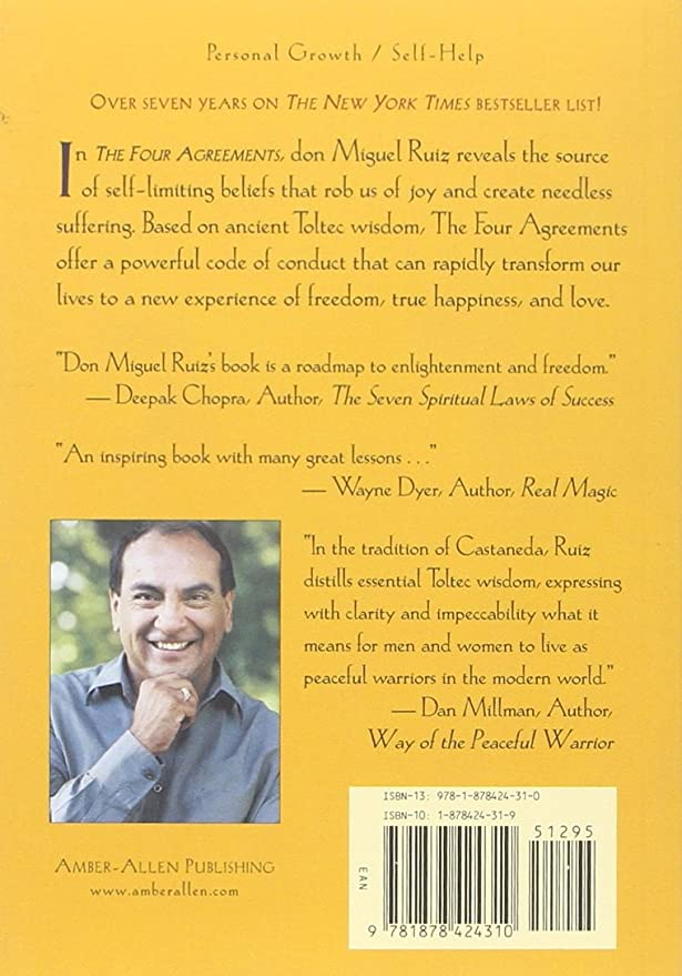 Amazon By Don Miguel Ruiz The Four Agreements A Practical