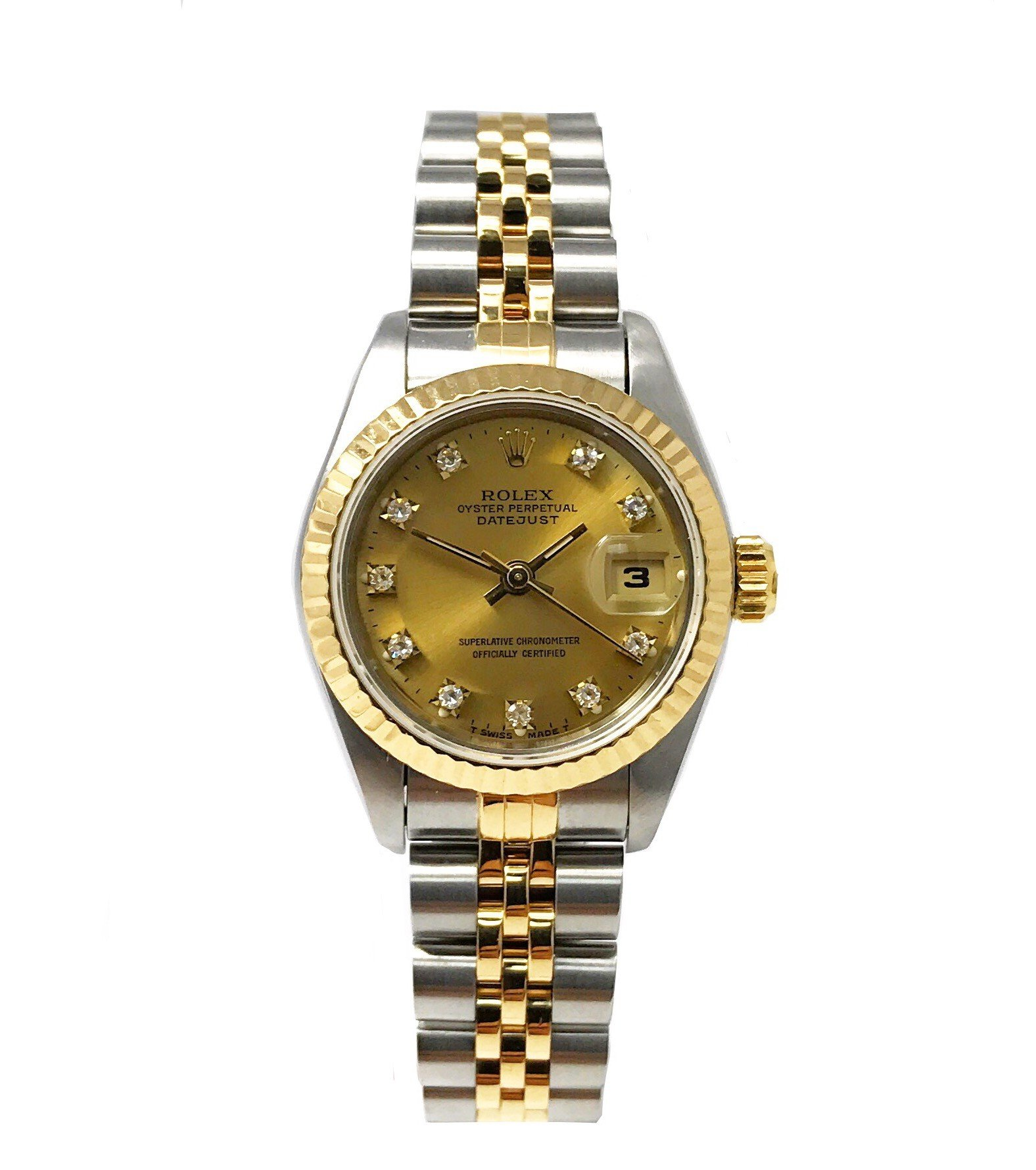 Rolex Datejust swiss-automatic womens Watch 69173 (Certified Pre-owned) by Rolex (Image #1)