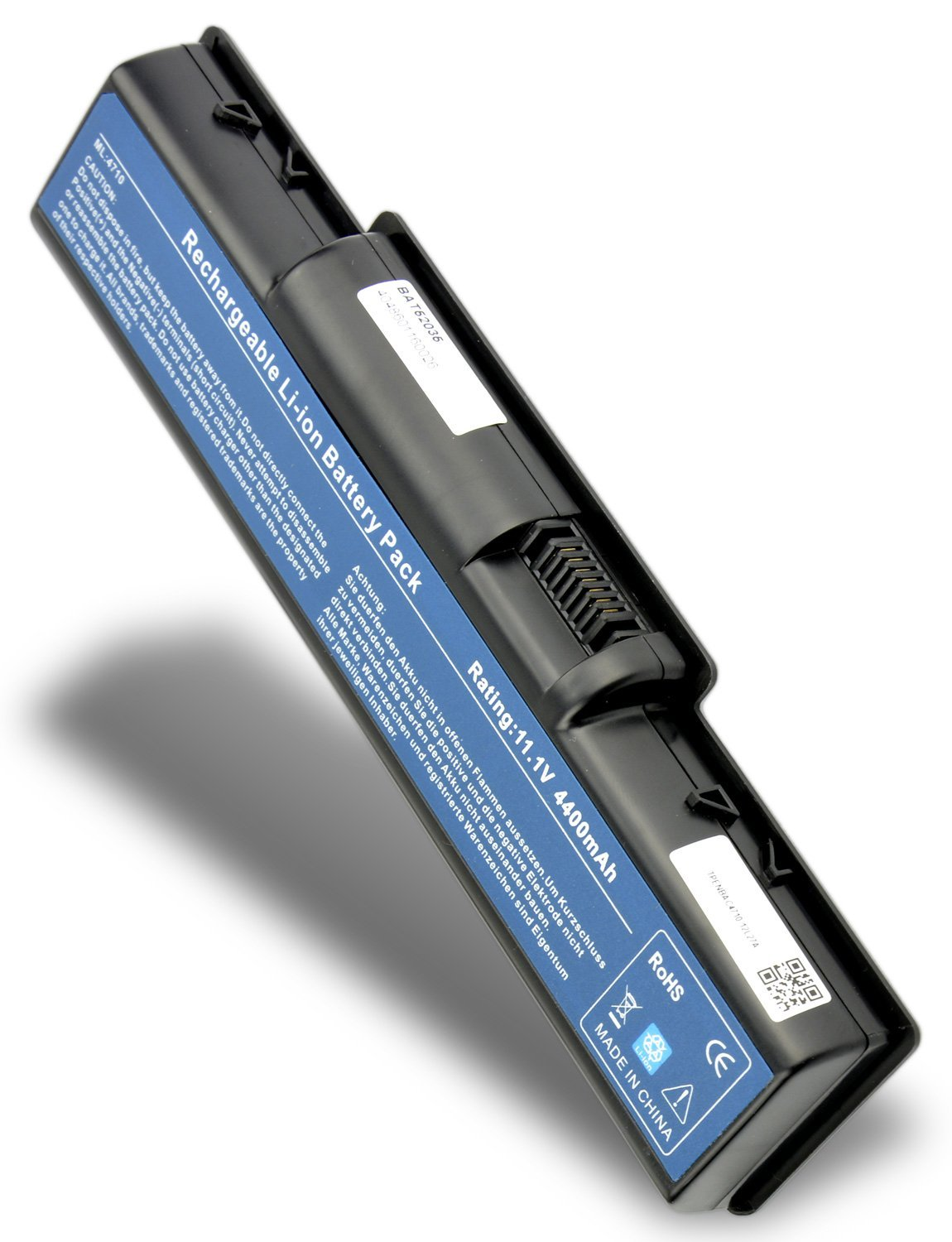 Replacement Laptop Battery for Acer ASPIRE 5542 ( 4400mAh / 10.8V ...