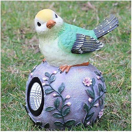 YROD LIGHT Lámpara de Jardín, LED Solar Resina Ecológica. Animales de Dibujos Animados Luz Decorativa de Exterior para Parque Yarda (Color : Verde): Amazon.es: Hogar