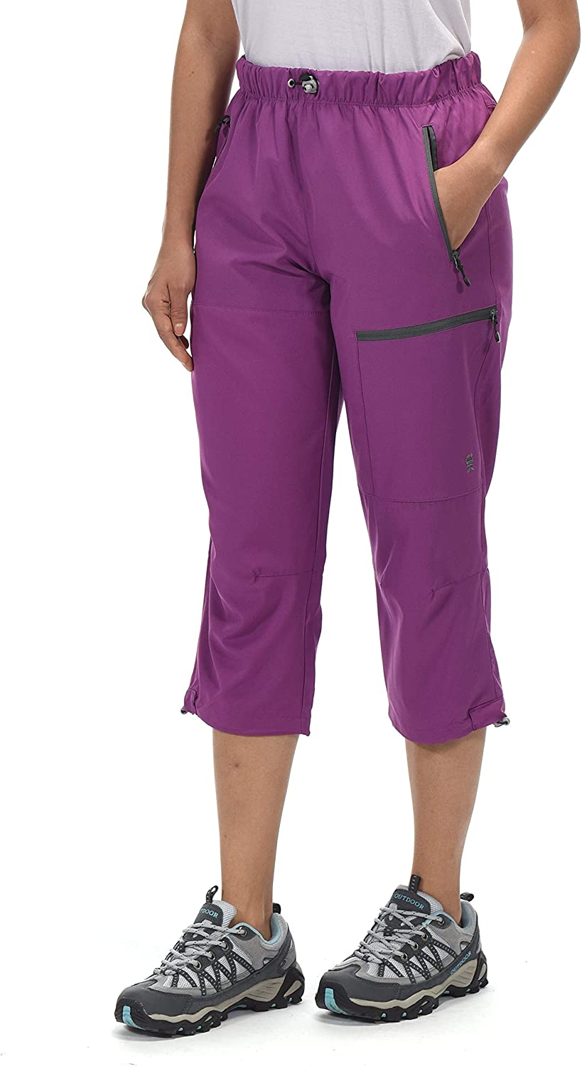 Little Donkey Andy Womens Quick Dry 3//4 Pants Capri Shorts Lightweight Hiking Travel Casual