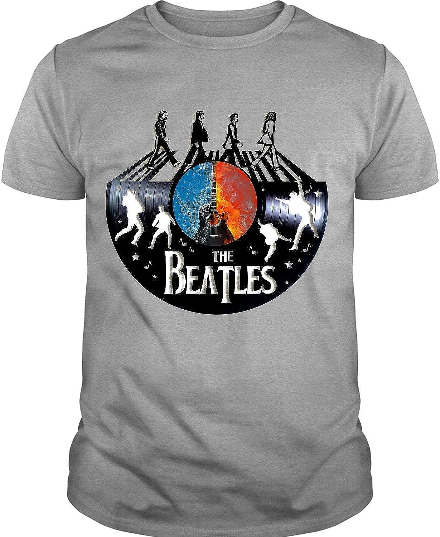beatles band tee