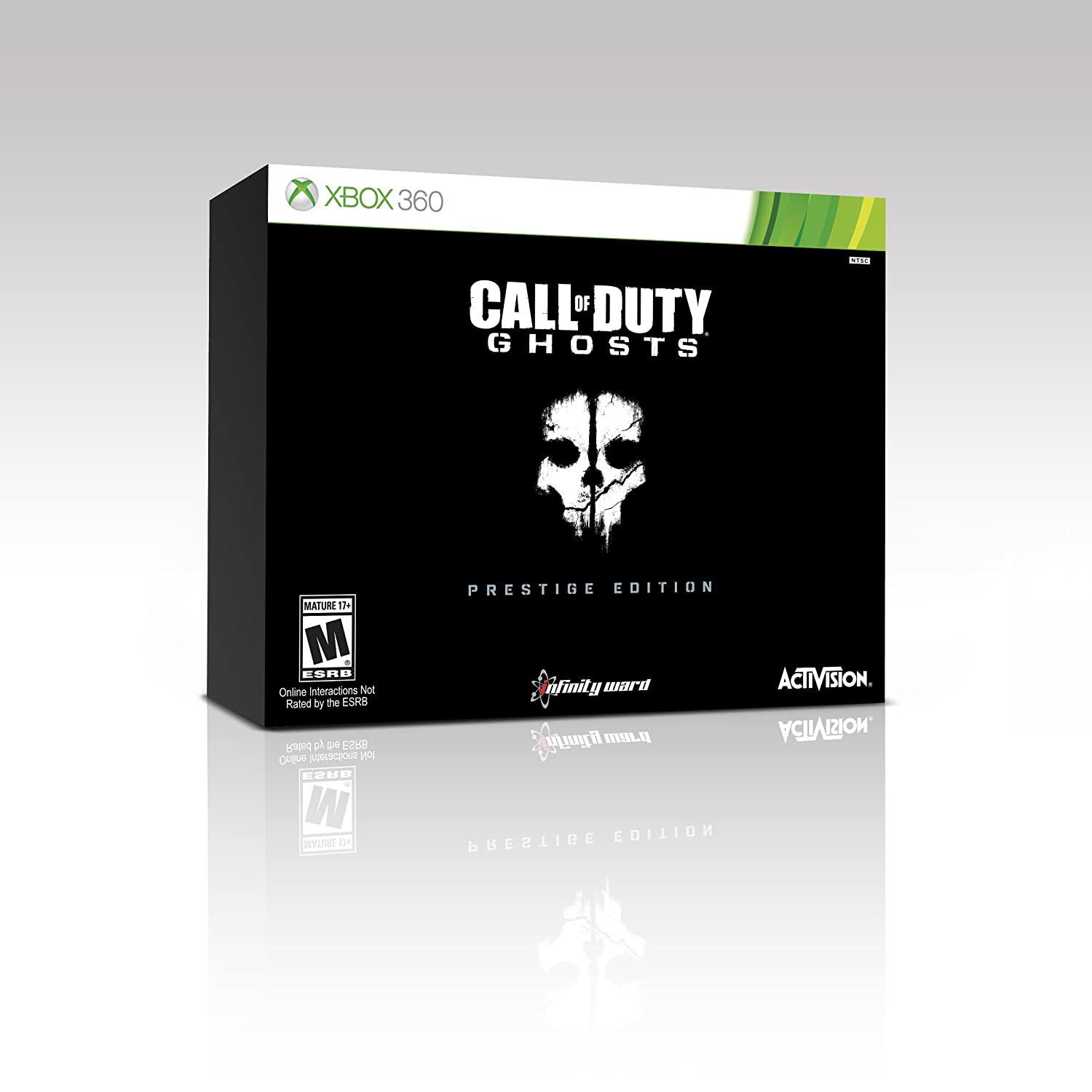 Call Of Dutyghosts Prestige Edition Ps3 Action Note