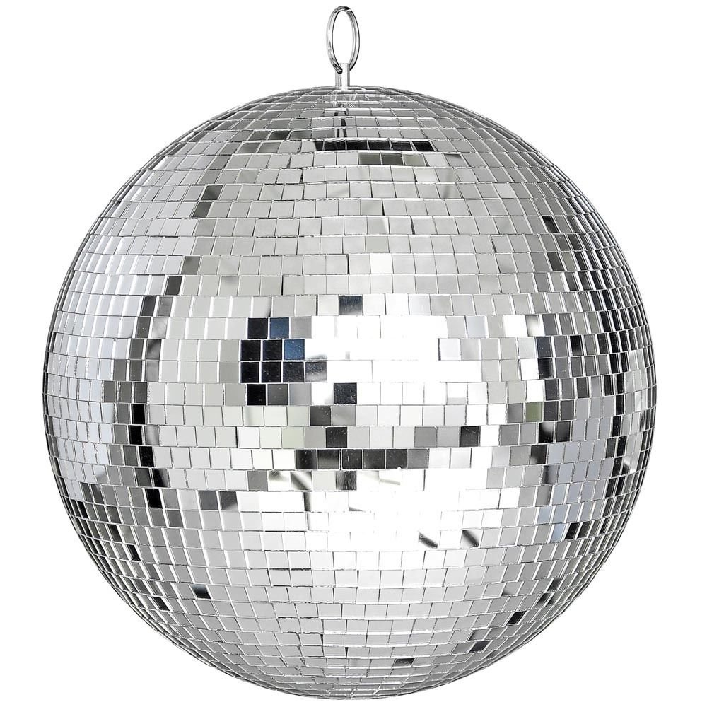 Eight24hours Large 12'' Mirror Glass Disco Ball DJ Dance Home Party Bands Club Stage Lighting