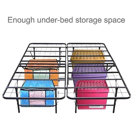 LANGRIA alambre hierro base colchón, cama de plataforma marco: Amazon.es: Juguetes y juegos