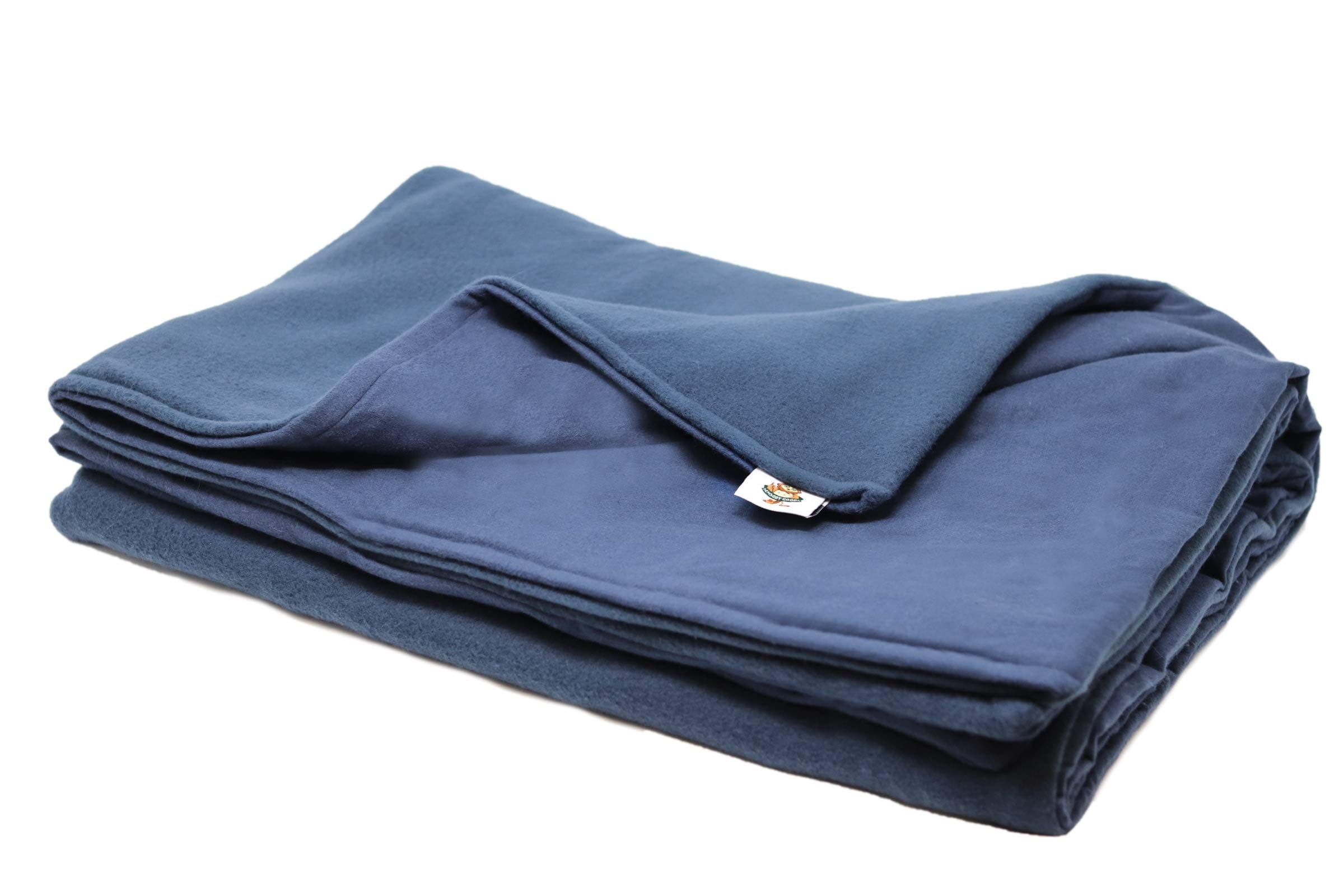 SENSORY GOODS Child Small Weighted Blanket MADE IN AMERICA- 5lb Medium Pressure - Navy (30'' x 48'') Our Weighted Blankets provide Comfort and Relaxation