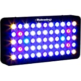 Roleadro LED Aquarium 165w Avec le Bouton Dimmable,Eclairage Aquarium Nano Pour Poissons Corail et Plantes en Aquarium(400x212x60mm)