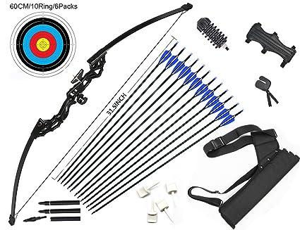 10X Archery arrow nocks for fiberglass shaft OD 8mm white green A RC