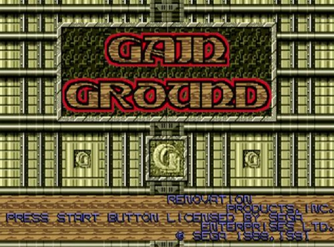 Gain Ground [Online Game Code]