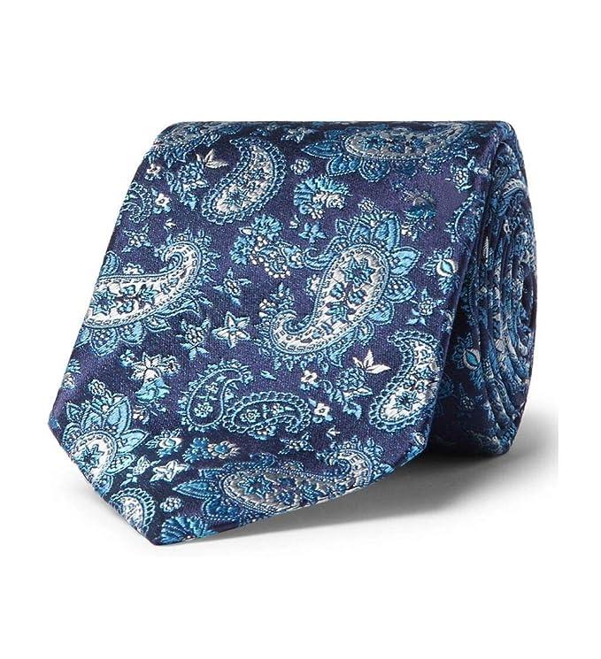 Turnbull & Asser - Corbata de seda (8 cm), diseño de cachemira ...